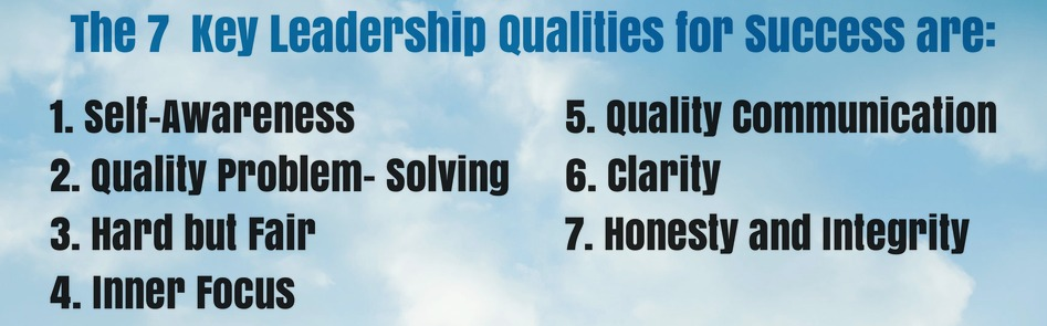 7 key leadership qualities for success bite size