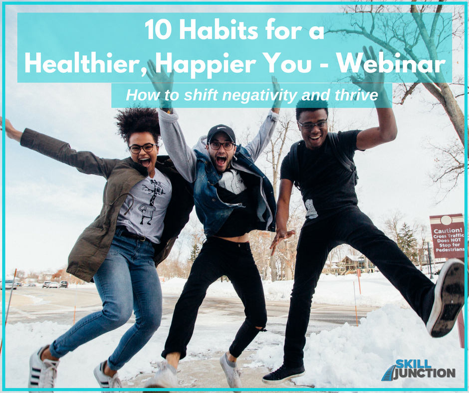mindset mastery - 10 habits for a healthier and happier you webinar