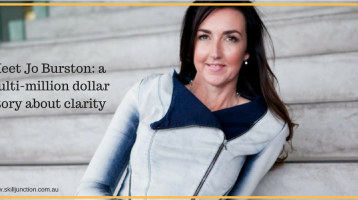 A Multi-Million Dollar Story about Clarity: Jo Burston
