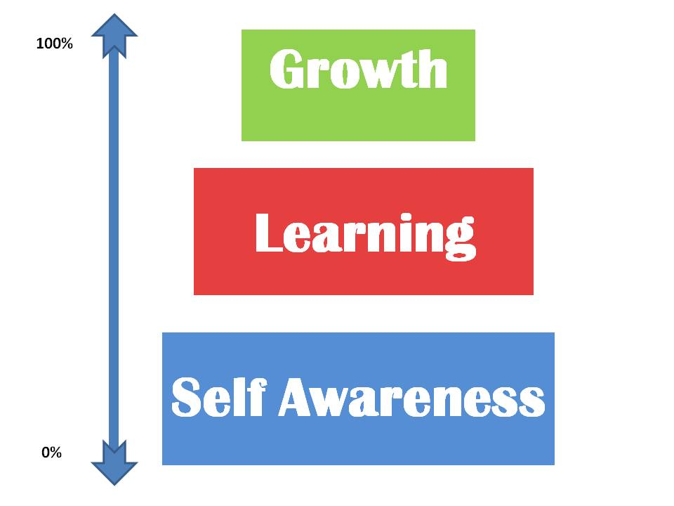 mindset for growth - self awareness model